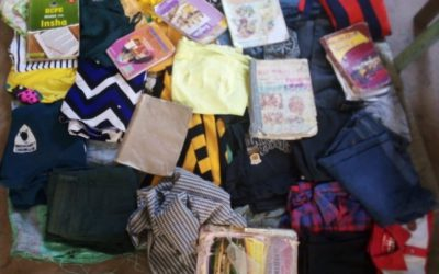 Kenya Chapter COVID-19 Household Pickup #111 (Clothing and Books)