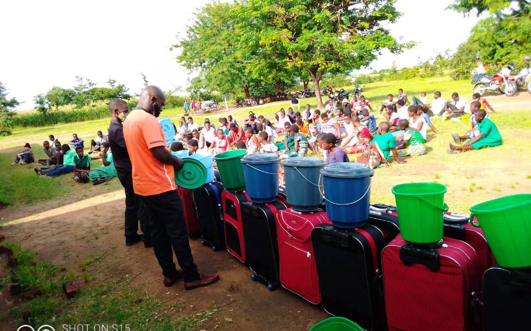 Malawi Chapter COVID-19 Household Pickup #153 (Bags and Buckets)